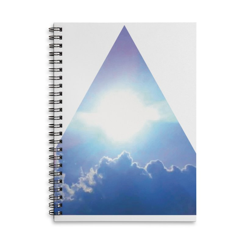 Up in the Clouds Accessories Lined Spiral Notebook by