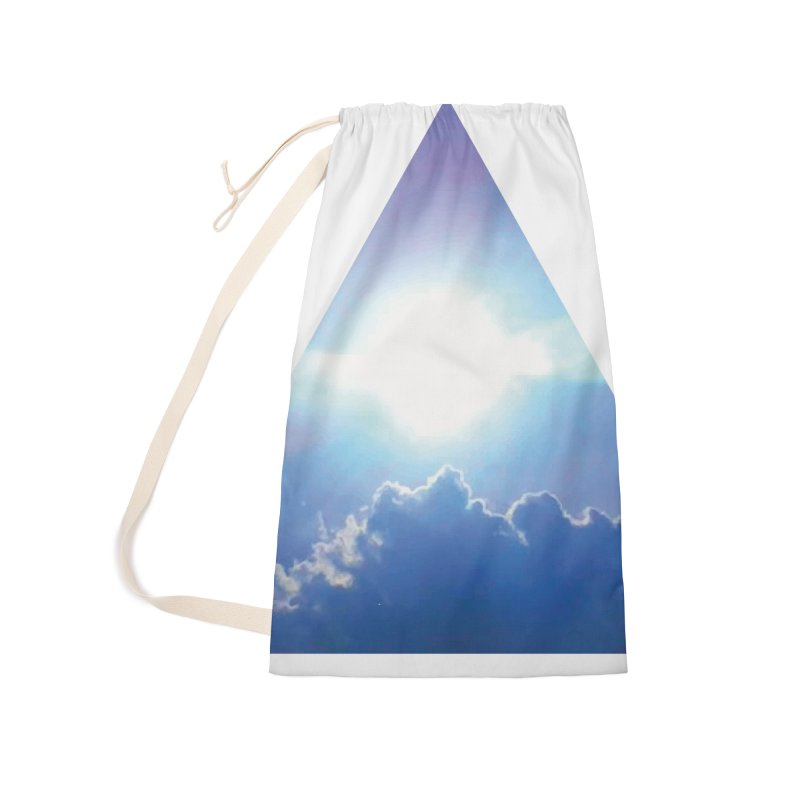 Up in the Clouds Accessories Laundry Bag Bag by