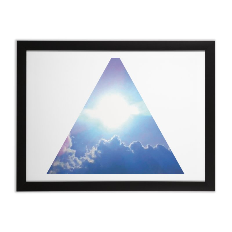 Up in the Clouds Home Framed Fine Art Print by