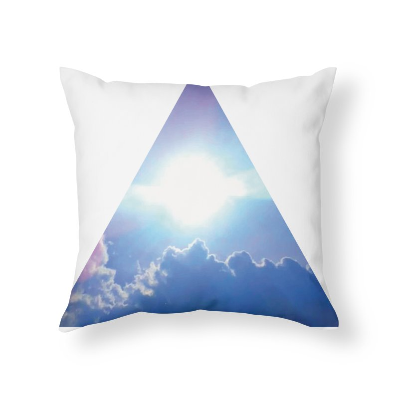 Up in the Clouds Home Throw Pillow by
