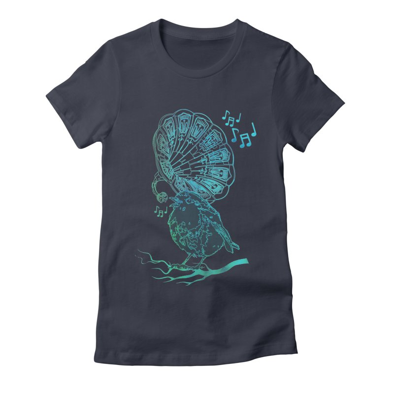 Birdograph Women's Fitted T-Shirt by