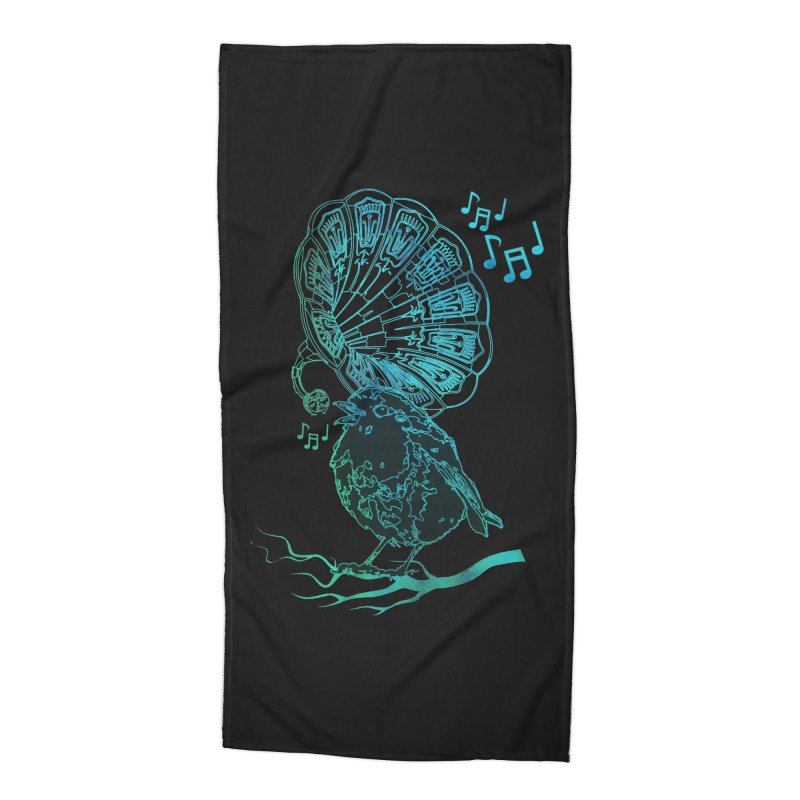 Birdograph Accessories Beach Towel by