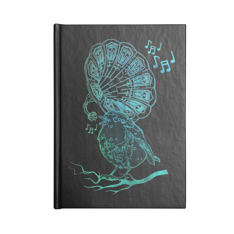 Birdograph Accessories Lined Journal Notebook by
