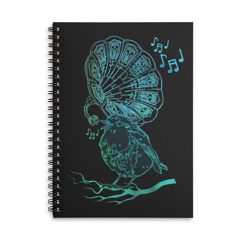 Birdograph Accessories Lined Spiral Notebook by