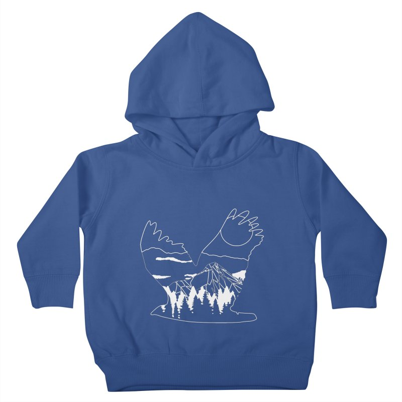 Free Bird Kids Toddler Pullover Hoody by