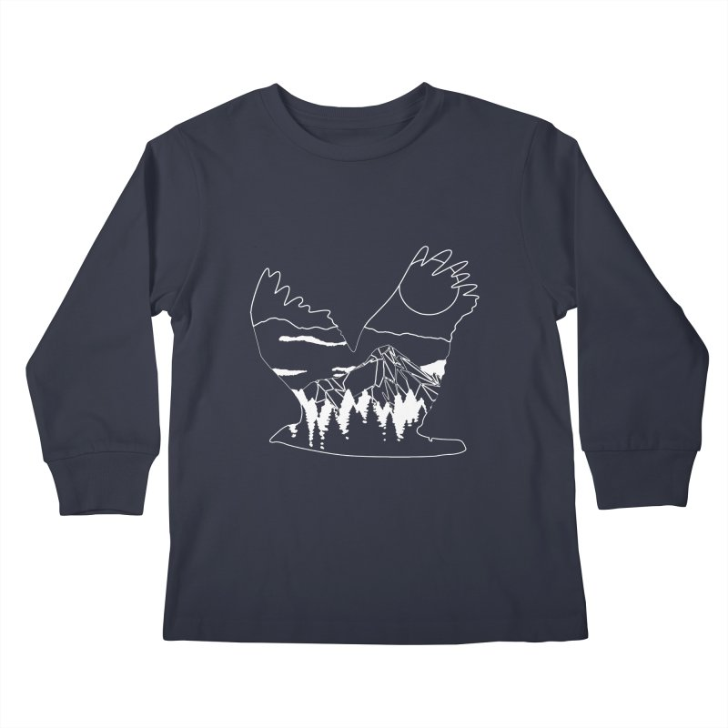 Free Bird Kids Longsleeve T-Shirt by