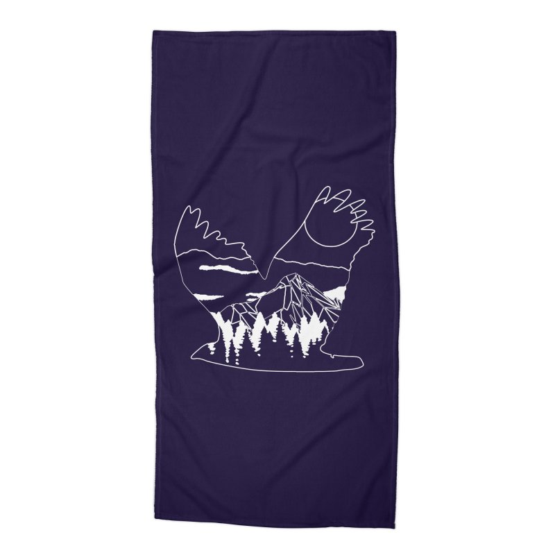 Free Bird Accessories Beach Towel by