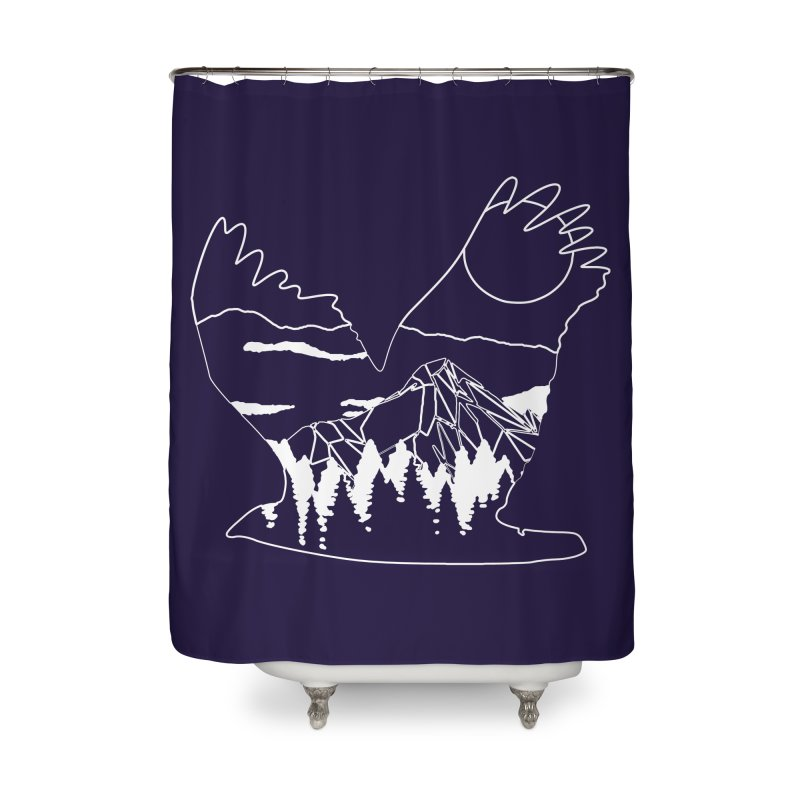 Free Bird Home Shower Curtain by