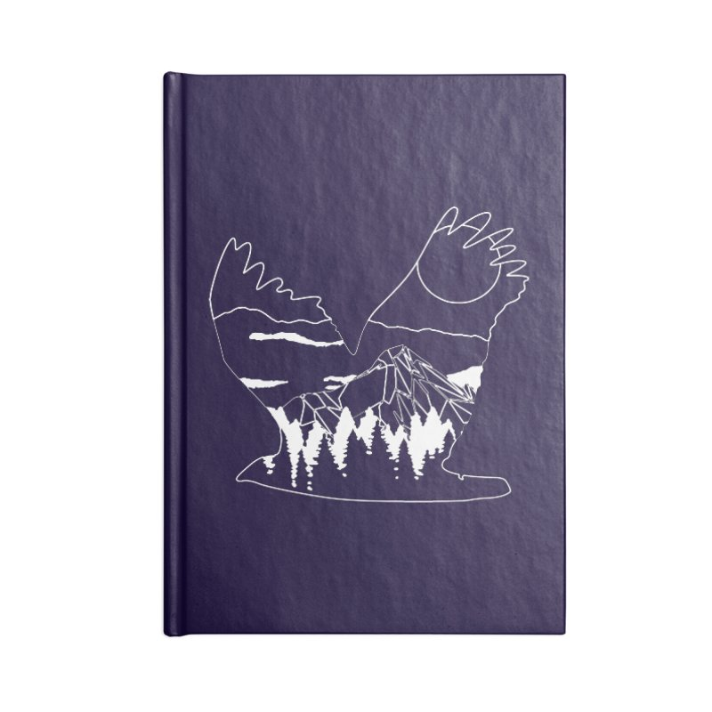 Free Bird Accessories Blank Journal Notebook by
