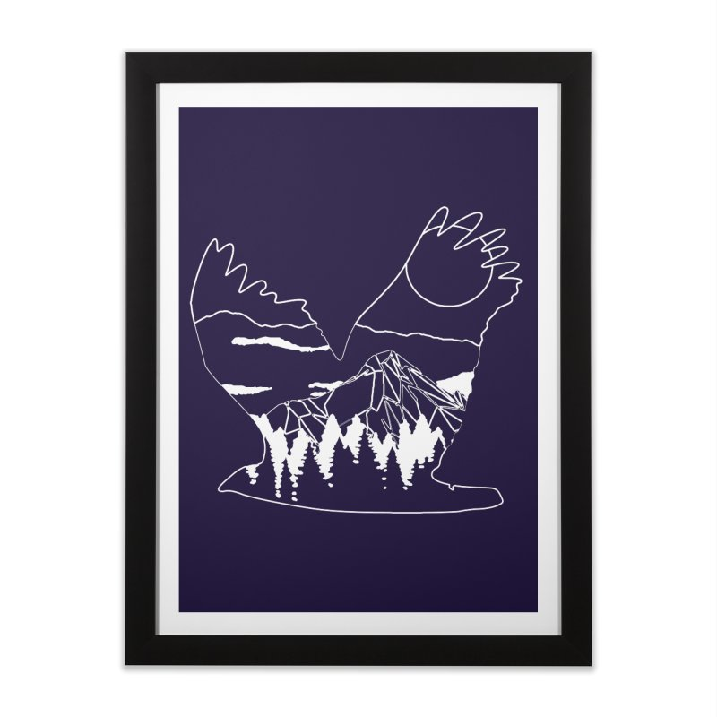 Free Bird Home Framed Fine Art Print by