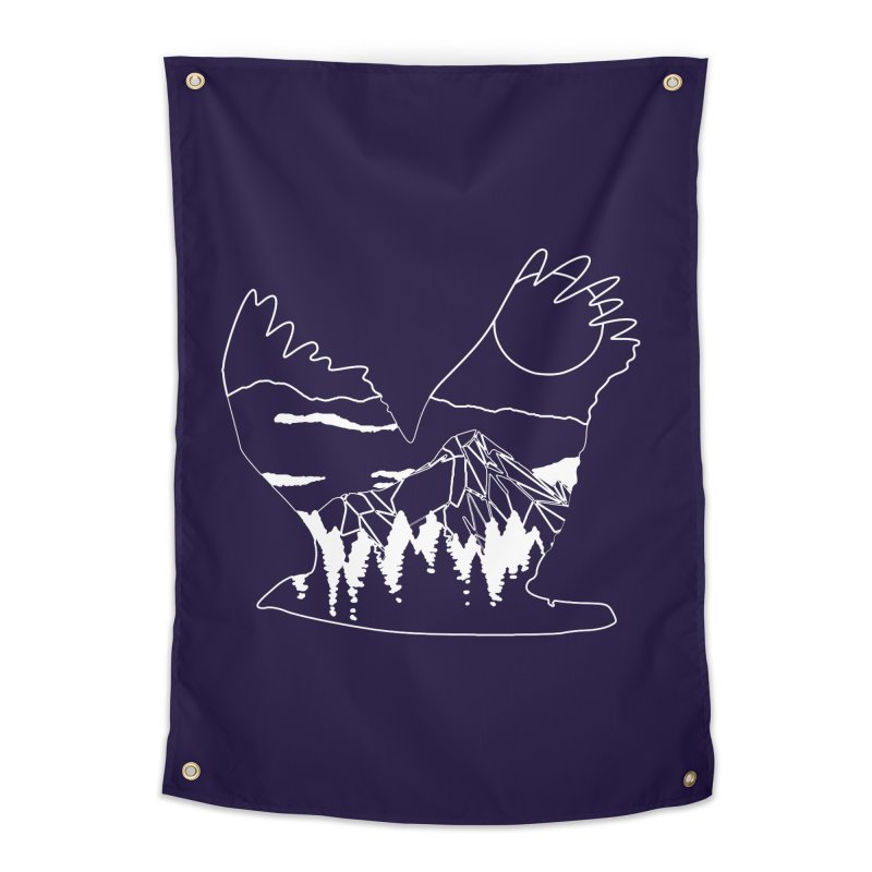 Free Bird Home Tapestry by