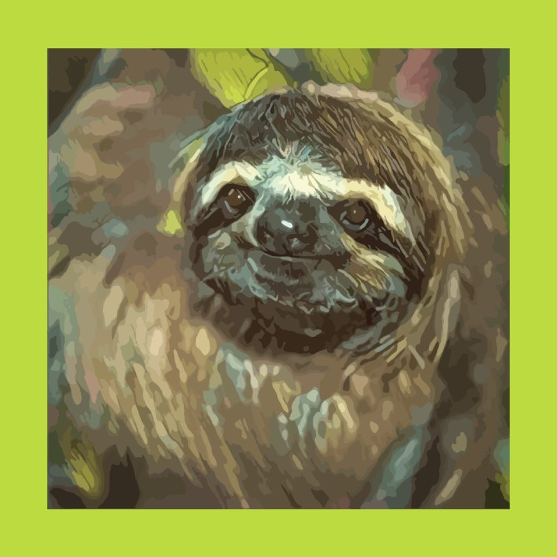 Sloth Home Framed Fine Art Print by