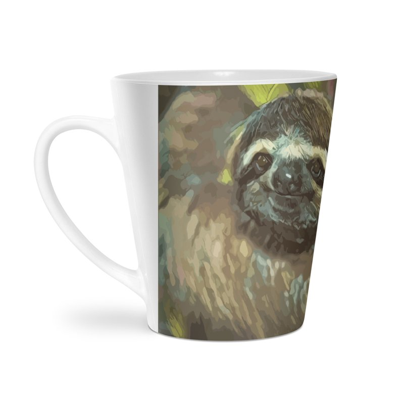 Sloth Accessories Latte Mug by