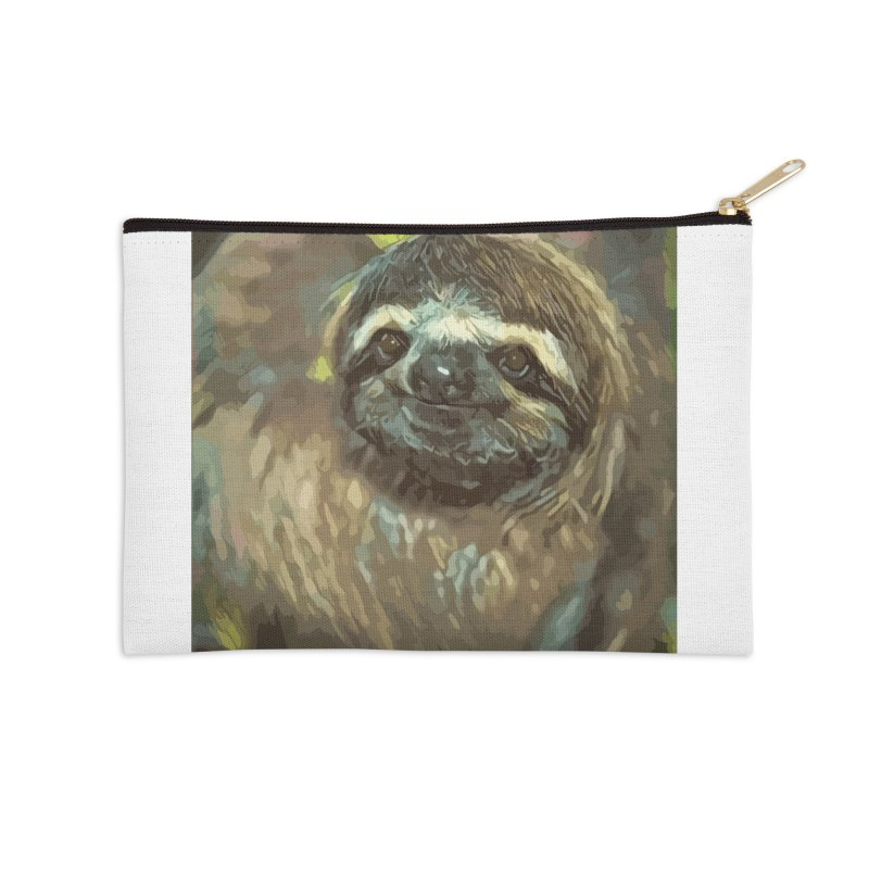 Sloth Accessories Zip Pouch by