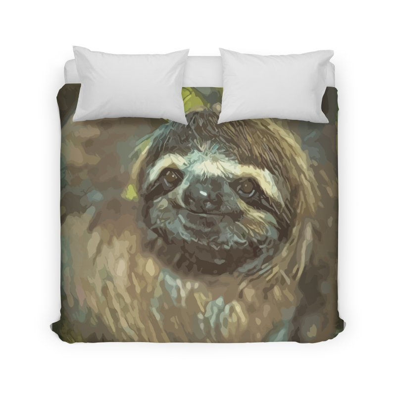 Sloth Home Duvet by