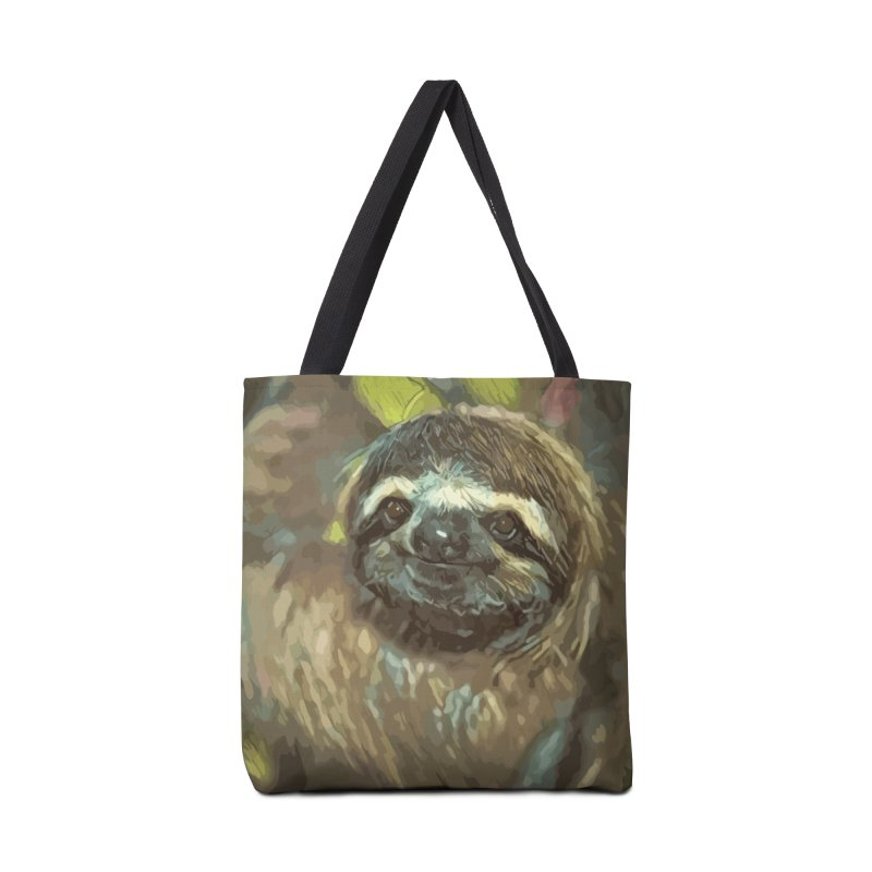 Sloth Accessories Bag by