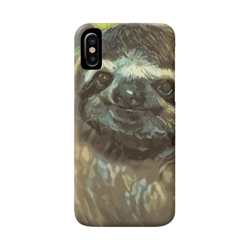 Sloth Accessories Phone Case by