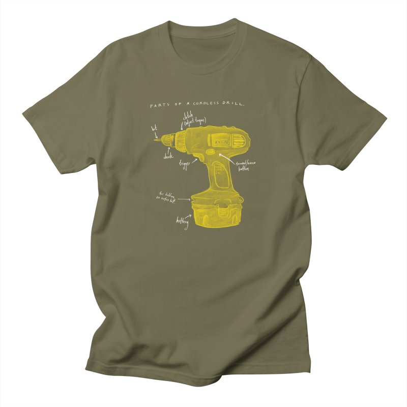 Shop Class Series: Cordless Drill Men's T-Shirt by Shop Class