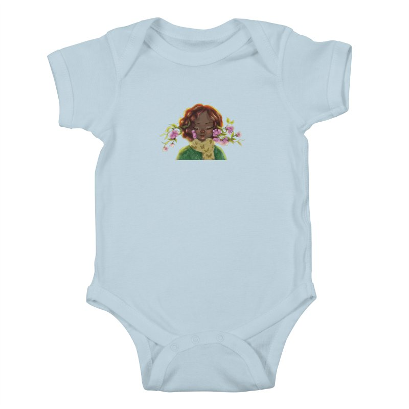 Daydreaming Kids Baby Bodysuit by sawyercloud's Artist Shop