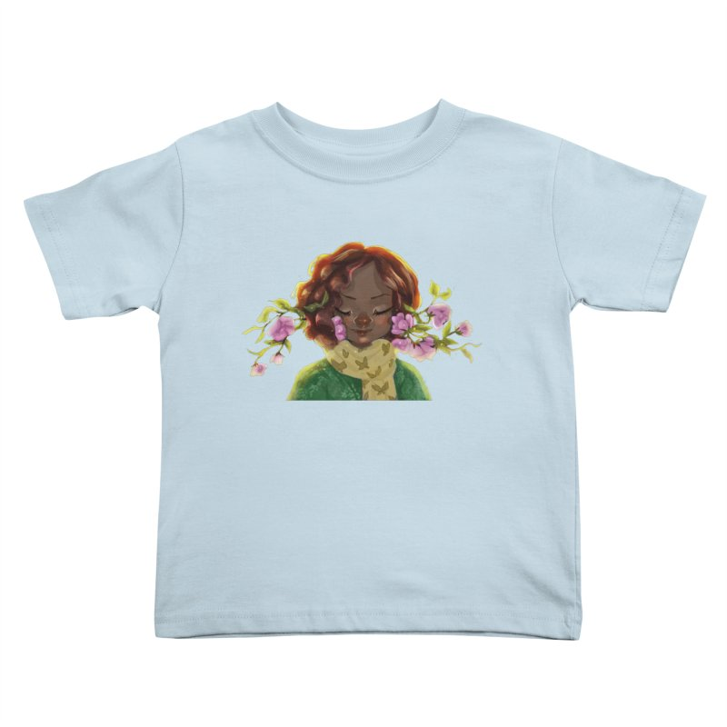 Daydreaming Kids Toddler T-Shirt by sawyercloud's Artist Shop