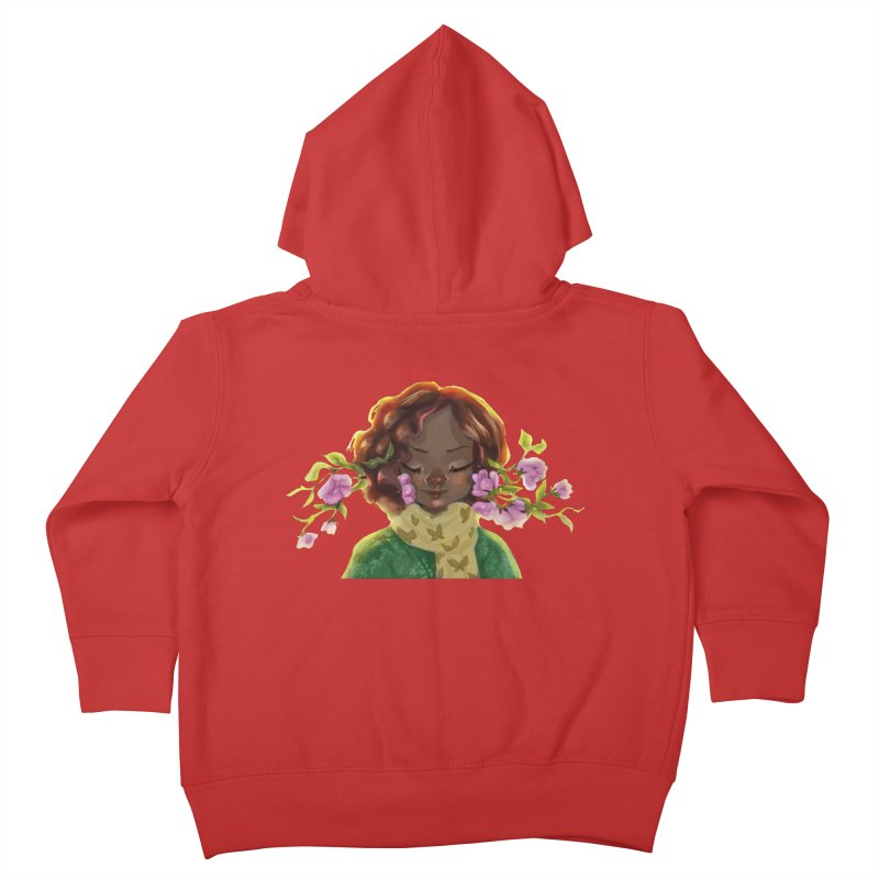 Daydreaming Kids Toddler Zip-Up Hoody by sawyercloud's Artist Shop