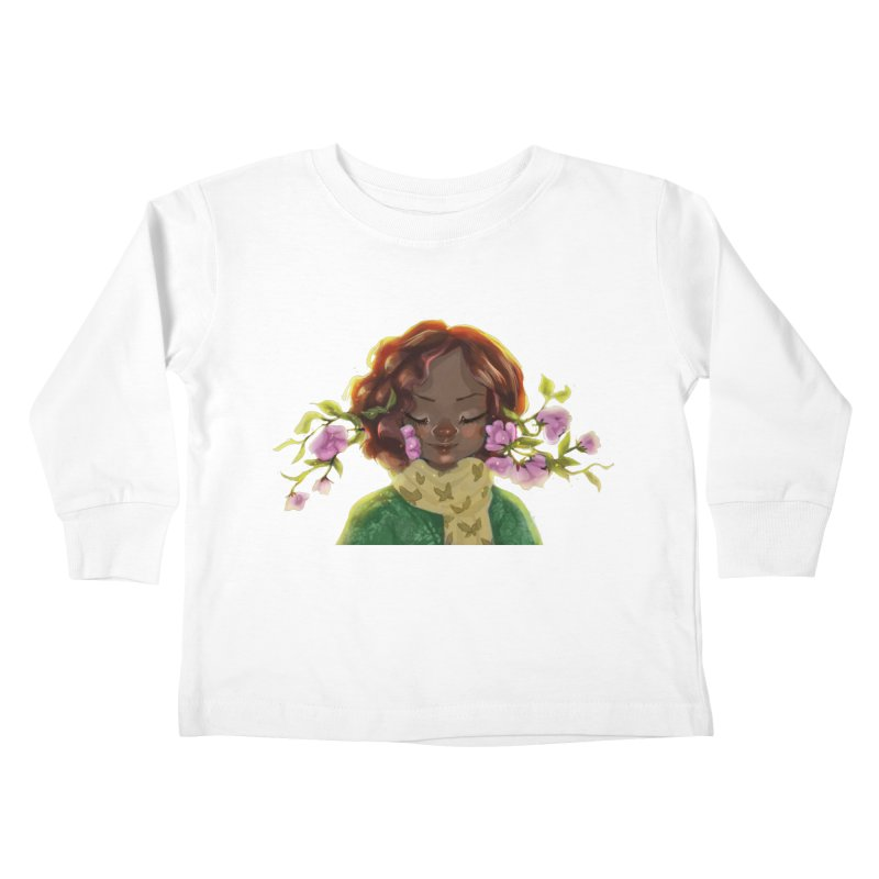 Daydreaming Kids Toddler Longsleeve T-Shirt by sawyercloud's Artist Shop