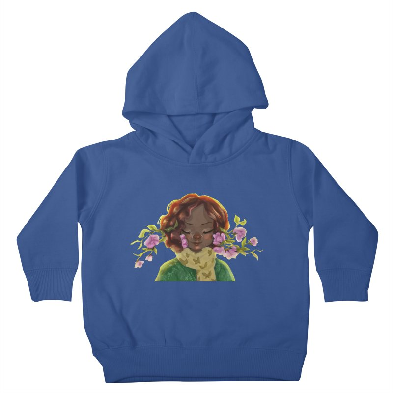 Daydreaming Kids Toddler Pullover Hoody by sawyercloud's Artist Shop