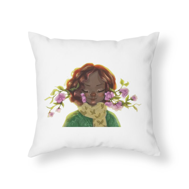 Daydreaming Home Throw Pillow by sawyercloud's Artist Shop