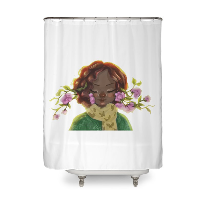 Daydreaming Home Shower Curtain by sawyercloud's Artist Shop