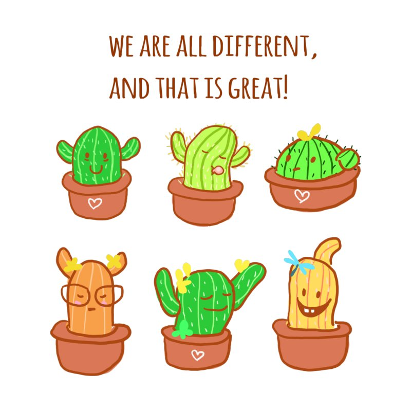 Happy cactus by sawyercloud's Artist Shop