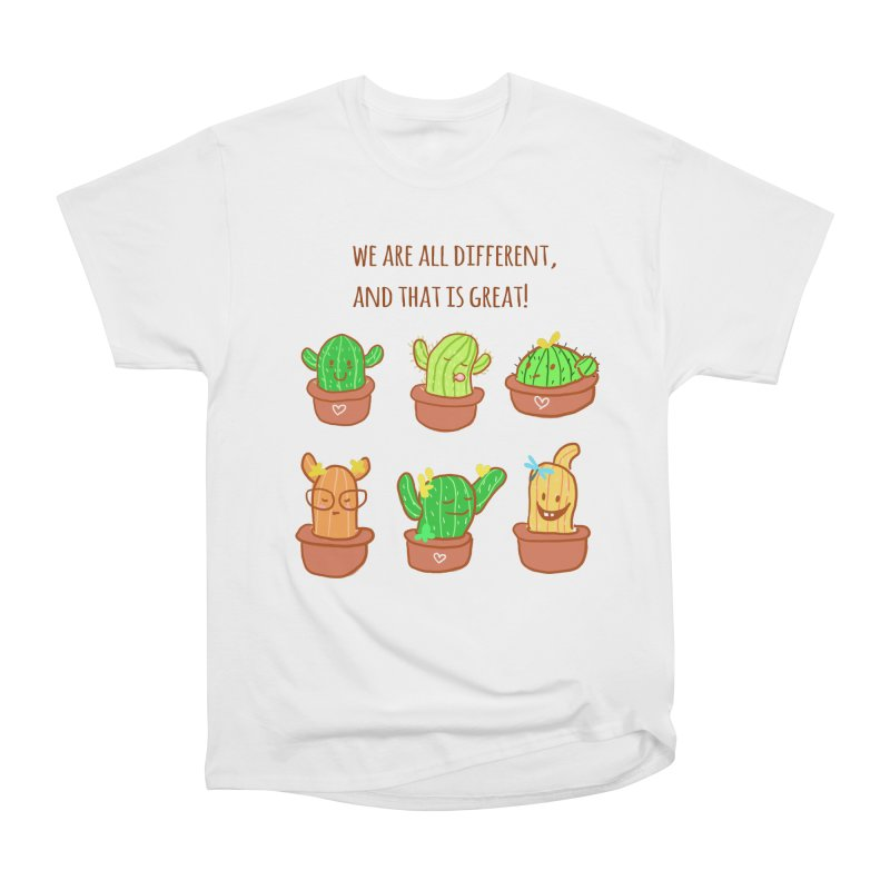 Happy cactus Women's T-Shirt by sawyercloud's Artist Shop
