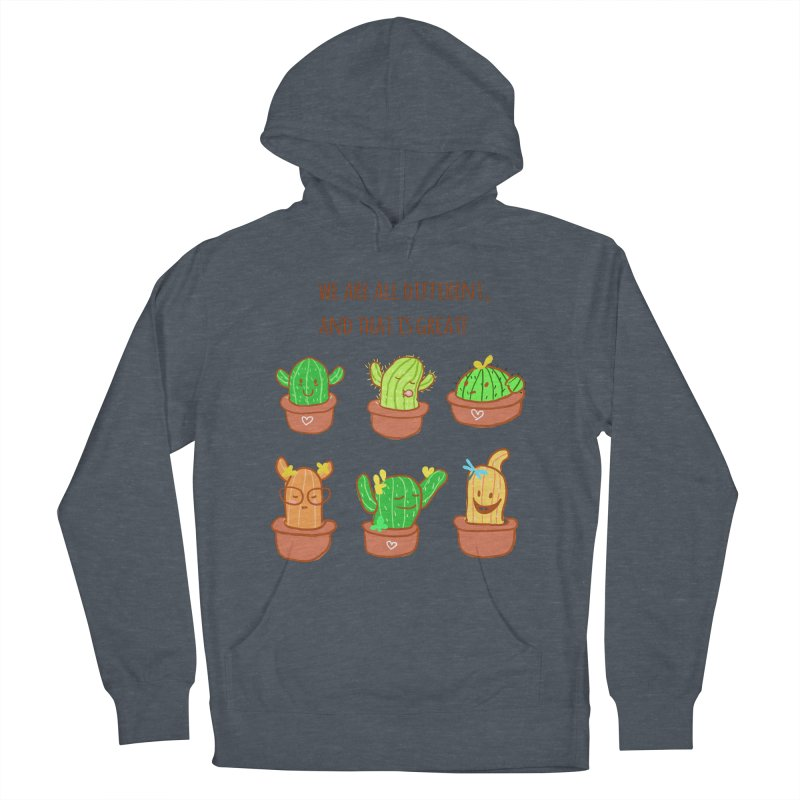 Happy cactus Women's Pullover Hoody by sawyercloud's Artist Shop