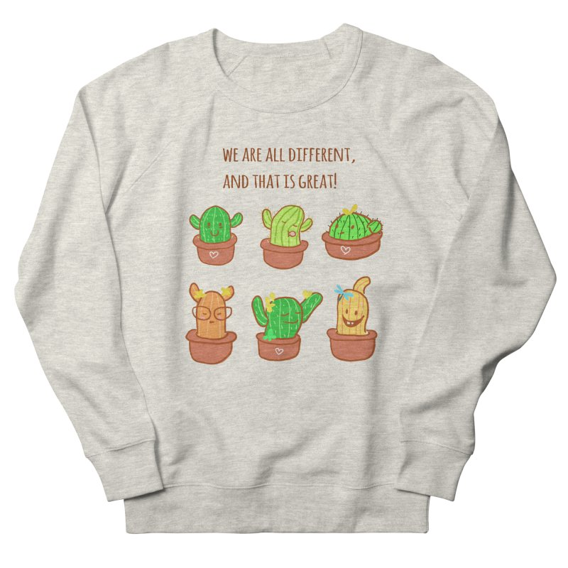 Happy cactus Men's Sweatshirt by sawyercloud's Artist Shop