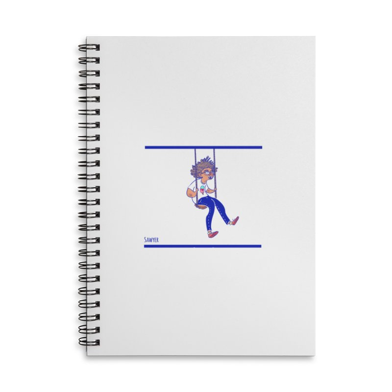SO HIGH! Accessories Lined Spiral Notebook by sawyercloud's Artist Shop