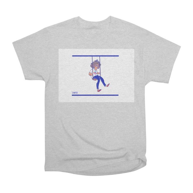 SO HIGH! Men's Heavyweight T-Shirt by sawyercloud's Artist Shop