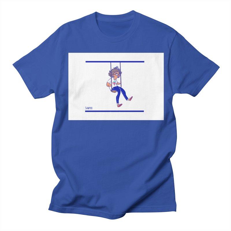SO HIGH! Men's Regular T-Shirt by sawyercloud's Artist Shop
