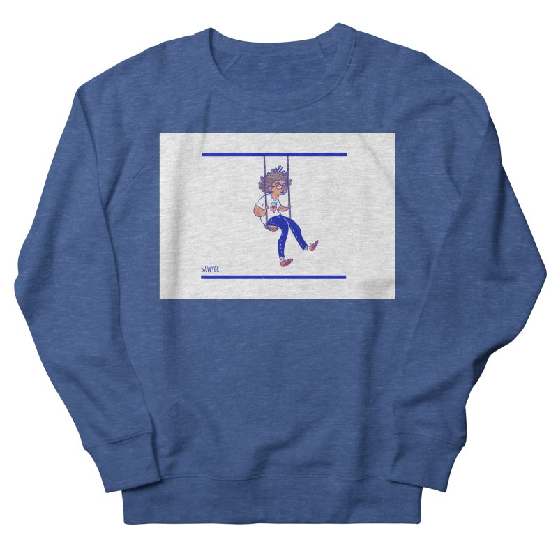 SO HIGH! Men's French Terry Sweatshirt by sawyercloud's Artist Shop