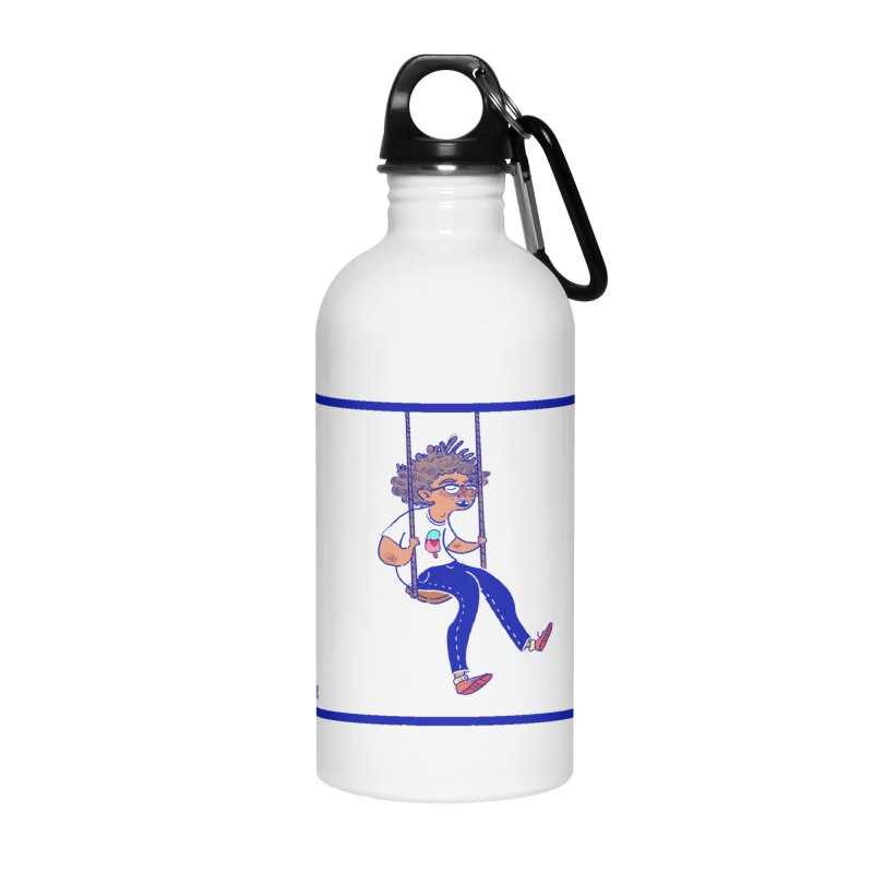 SO HIGH! Accessories Water Bottle by sawyercloud's Artist Shop