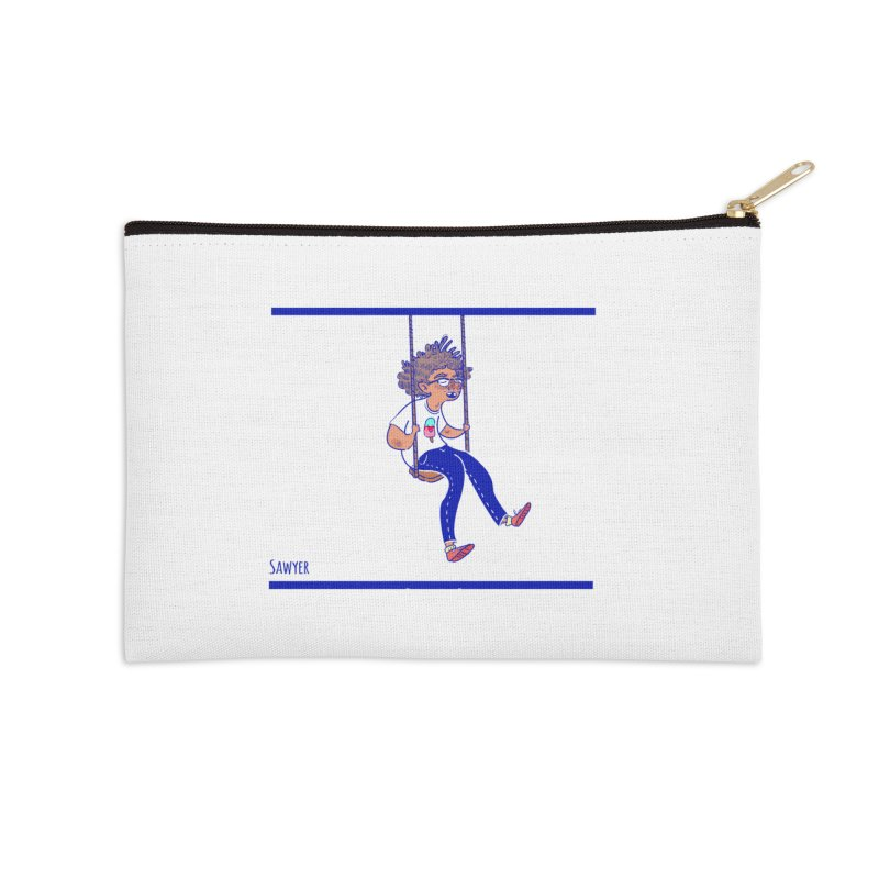 SO HIGH! Accessories Zip Pouch by sawyercloud's Artist Shop