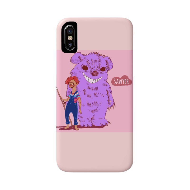 Monster and friend Accessories Phone Case by sawyercloud's Artist Shop