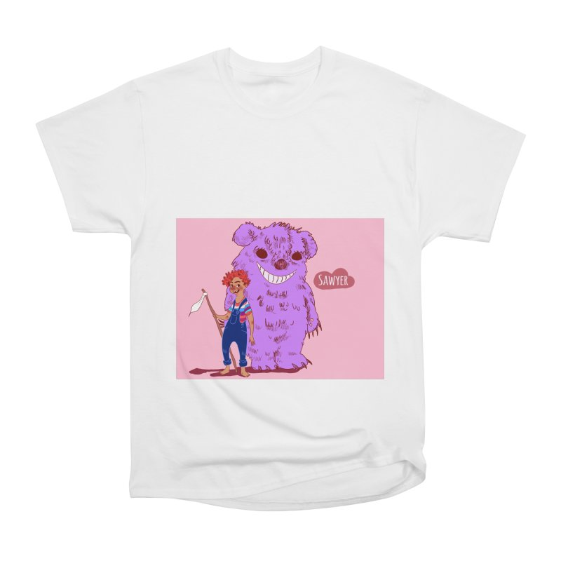 Monster and friend Men's Heavyweight T-Shirt by sawyercloud's Artist Shop