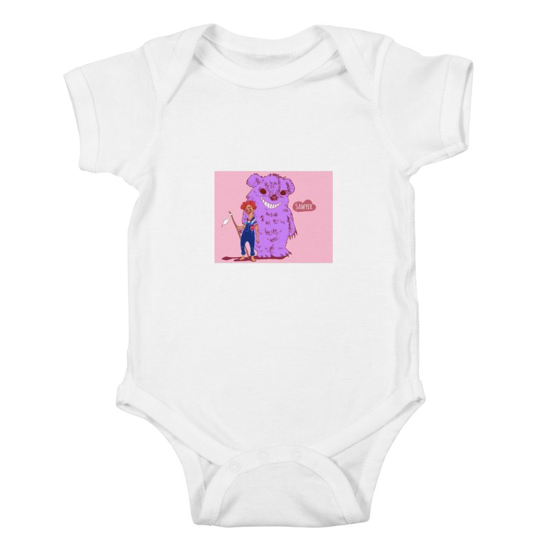 Monster and friend Kids Baby Bodysuit by sawyercloud's Artist Shop