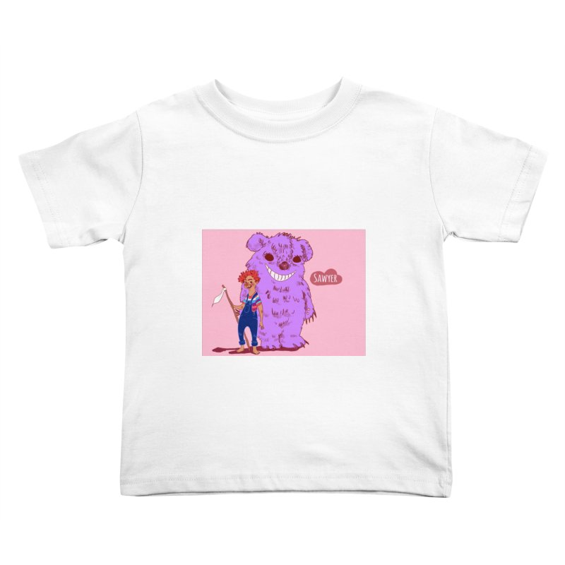 Monster and friend Kids Toddler T-Shirt by sawyercloud's Artist Shop