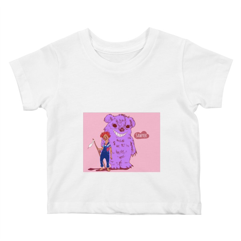 Monster and friend Kids Baby T-Shirt by sawyercloud's Artist Shop