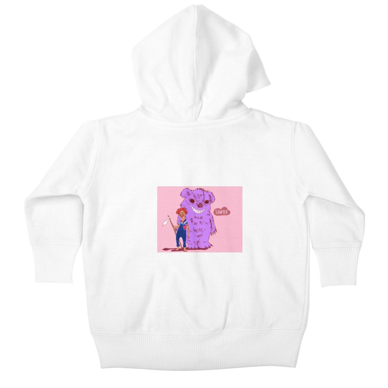 Monster and friend Kids Baby Zip-Up Hoody by sawyercloud's Artist Shop