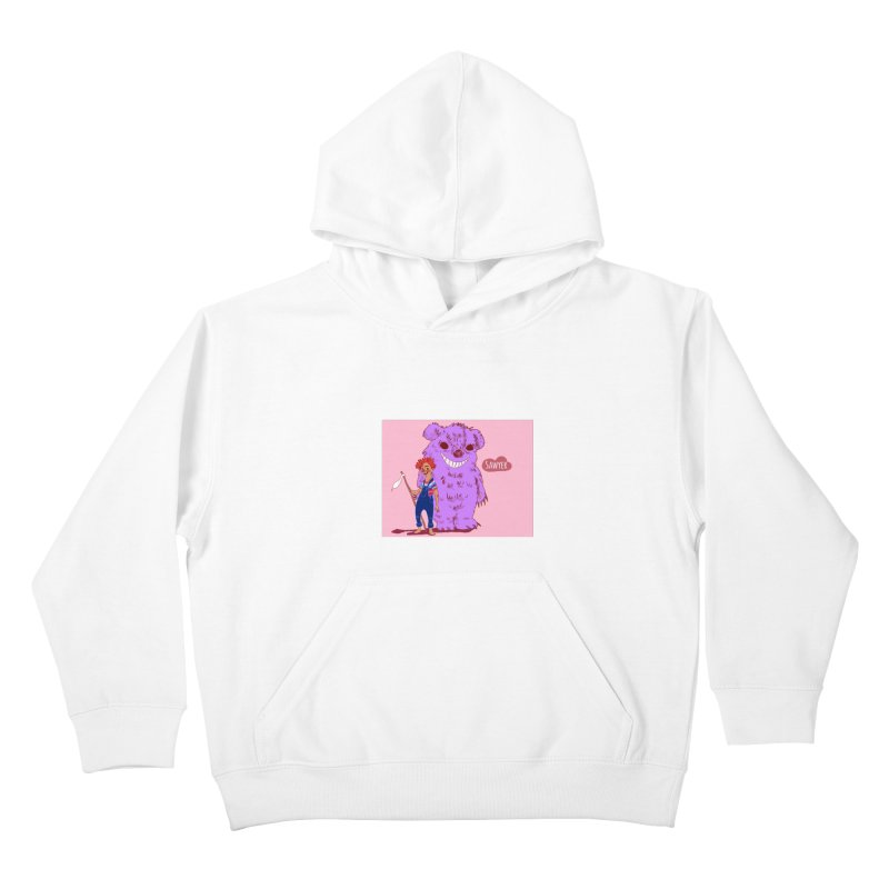 Monster and friend Kids Pullover Hoody by sawyercloud's Artist Shop