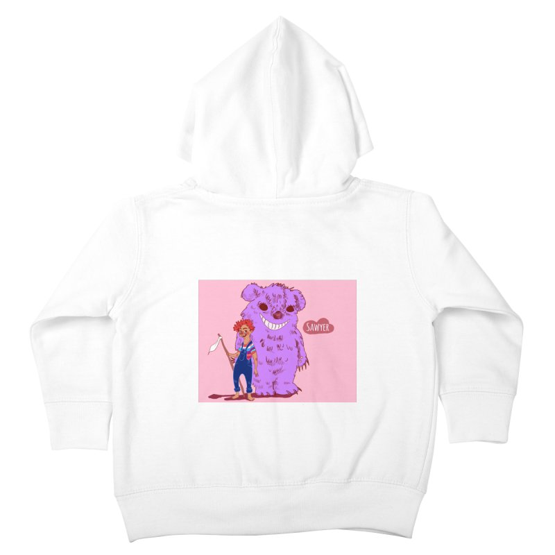 Monster and friend Kids Toddler Zip-Up Hoody by sawyercloud's Artist Shop