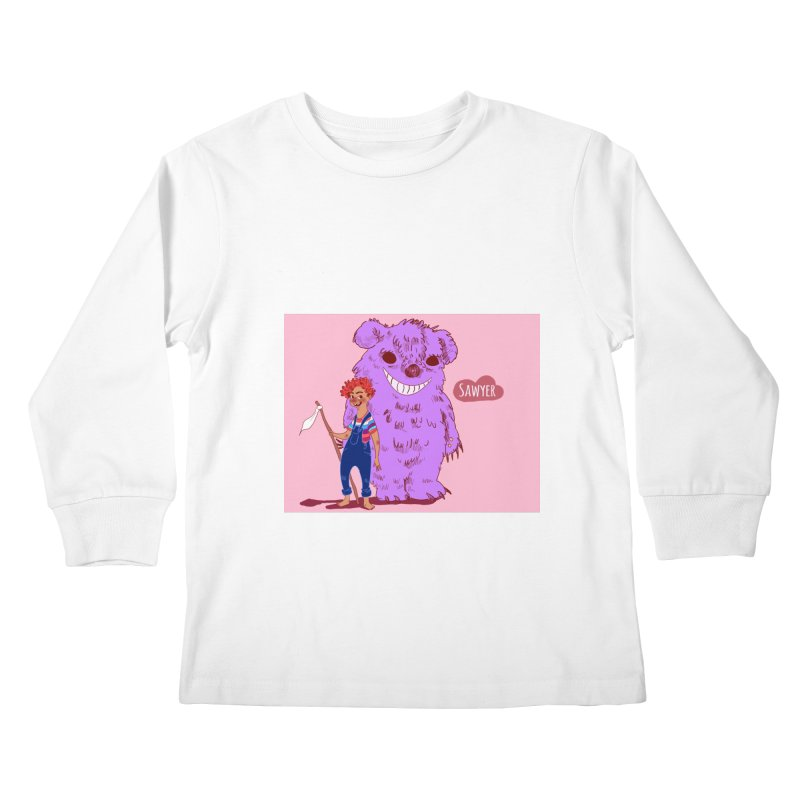 Monster and friend Kids Longsleeve T-Shirt by sawyercloud's Artist Shop