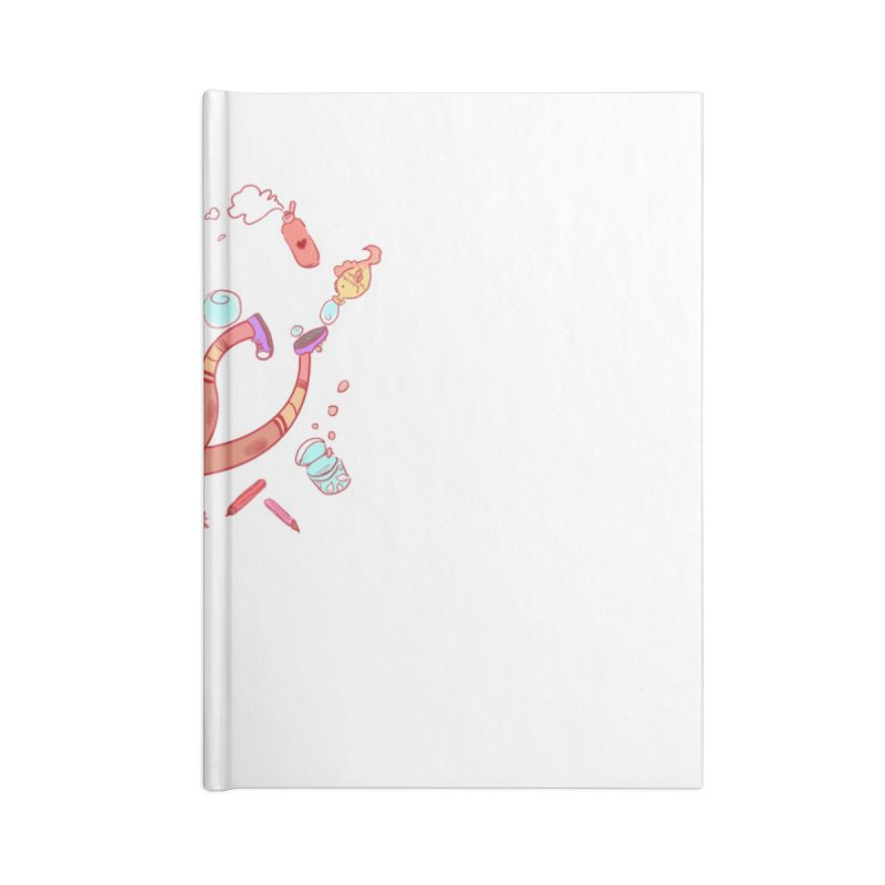 LET GO! Accessories Notebook by sawyercloud's Artist Shop