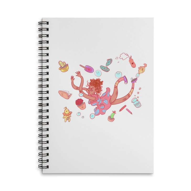 LET GO! Accessories Lined Spiral Notebook by sawyercloud's Artist Shop